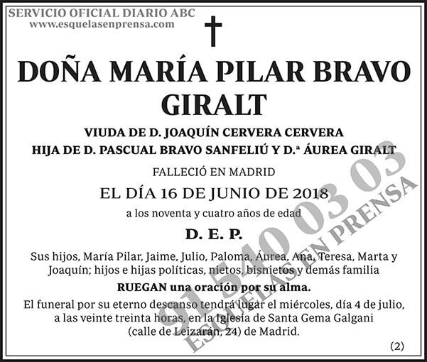 María Pilar Bravo Giralt